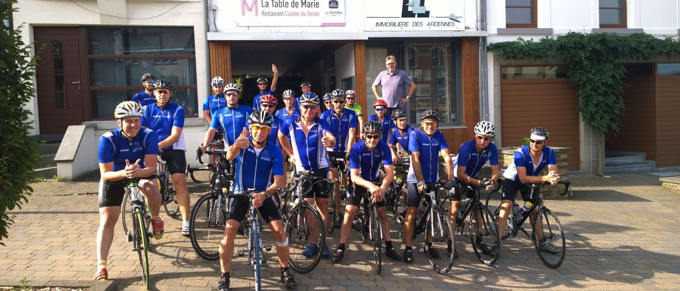 Un autre groupe de cycliste
